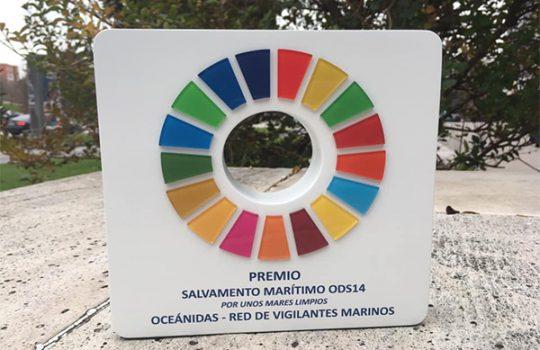 OCEÁNIDAS RECIBE EL PREMIO DE SALVAMENTO MARÍTIMO