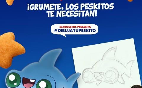 Concurso «Dibuja tu Peskito»