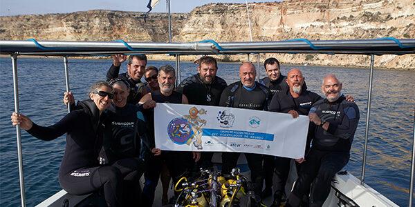 Campaña en la zona ZEC acantilados de Aguadú en Melilla